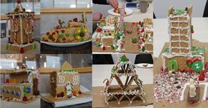 LEA gingerbread competition entrants.