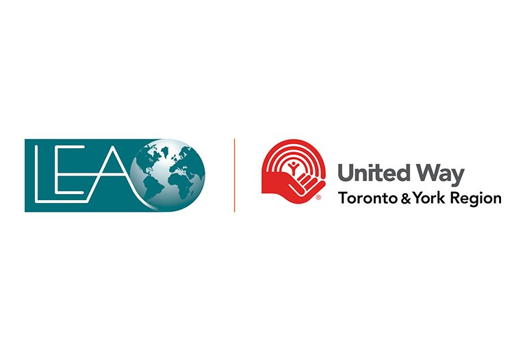 LEA and United Way logos.